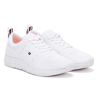 Tommy Hilfiger Corporate Knit Modern Mens White Trainers