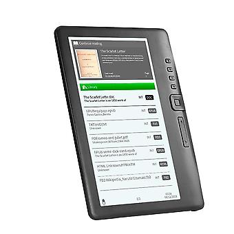 Portable E-book Reader 7inch Multifunction Backlight Color Lcd Display Screen