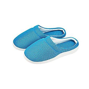 Summer Women Men Bamboo Cooling Gel Slippers Anti Fatigue Sandals Shoes Size L
