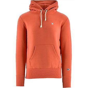 Champion Orange Kapuzen Sweatshirt