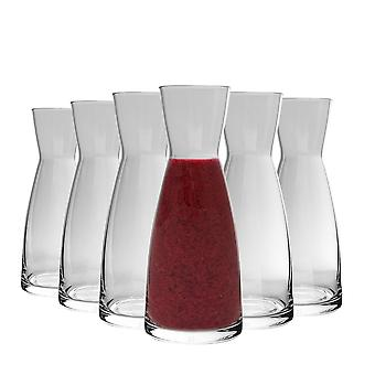 Bormioli Rocco Ypsilon Wasser Carafe Dekanter Krug - 550ml - Packung mit 6