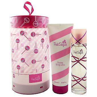 Regalo Aquolina Pink Sugar EDT 100ml - Lozione per il corpo 250ml
