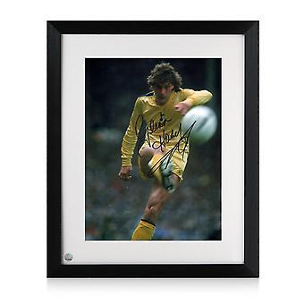 グレン・ホドルがトッテナム・ホットスパーと契約 写真:1982年FAカップ決勝。フレーム