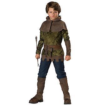 Robin Hood of Nottingham Renaissance Medieval Story Boon Week Boys Costume