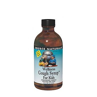 Source Naturals Wellness Cough Syrup for Kids, 4 oz