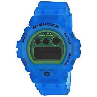 Casio Men's G-Shock Green Dial Watch - DW6900LS-2