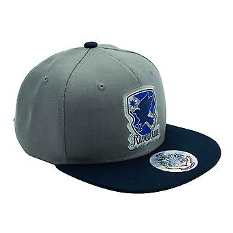 Harry Potter Baseball Cap Ravenclaw House Crest Official Szary & Niebieski Strapback