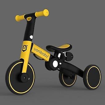 5-in-1 Foldable Balance Bike Tricycle,'s Walker Strollers, Portable Bicycle