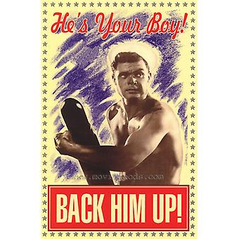 Back Him Up Movie Poster Print (27 x 40)