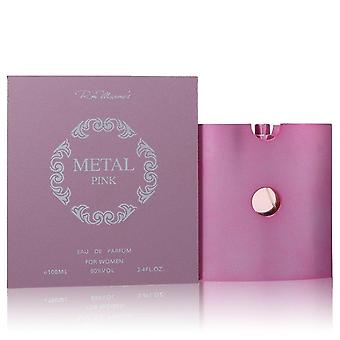 Metal Pink Eau De Parfum Spray By Ron Marone's 3.4 oz Eau De Parfum Spray