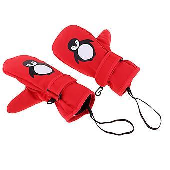 Waterproof Thermal Ski Mittens Gloves For Cycling/hiking Kids Ski Winter Gloves