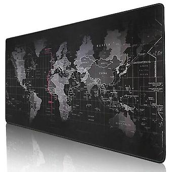 Old World Map Large Gaming Mouse Pad Lockedge Mouse Mat Keyboard Pad Desk Mat