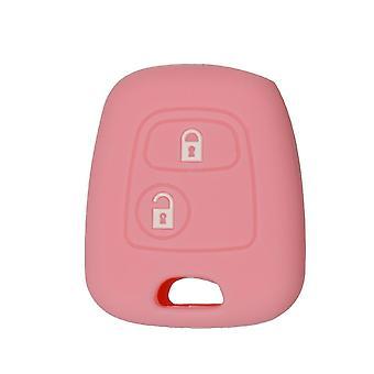Silikon Auto Schlüssel Abdeckung Halter, weiche Gummi Knopf Fob Fall Shell