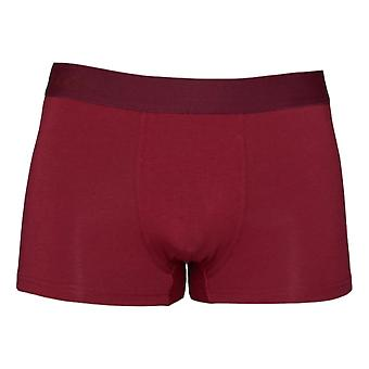 Wood Trunks - Burgundy Red - Large