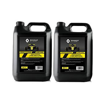 Renault F1 2 x 5 Litre High Gloss Tyre Dressing | Heavy Duty Formula