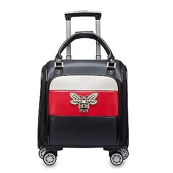 Mala de rolamento de bagagem de carrinho de luz da marca de moda