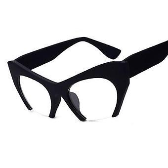 Katze Eye Glasses Vintage Spectacle Frames Nerd Clear Lens Frame Brillen Frauen