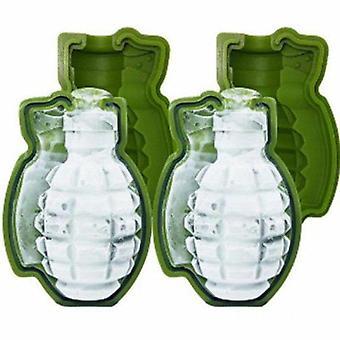 Grenade Shaped Ice Cube Mold