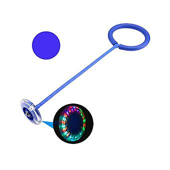Skip Ball Toy With Led Lighting Blue