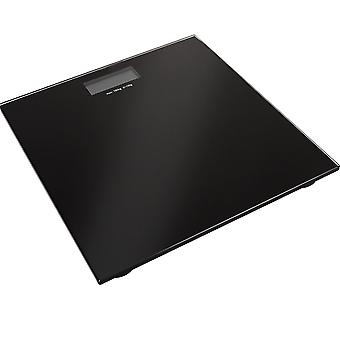 Black Digital Lcd Bathroom Weighing Platform Scales Electronic Scale 180kg