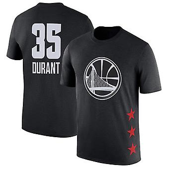 Kevin Durant Golden State Warriors No.35 Basketball T-shirt Sports Top DXG021