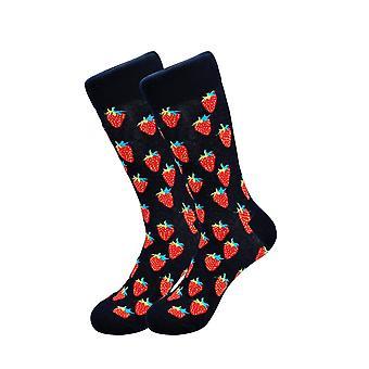 Sick Socks Strawberry Print
