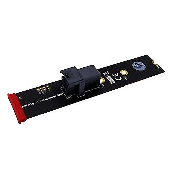 SFF-8643 to M.2 Key M Adapter Card Adapter Riser Card for U.2 NVMe SSD
