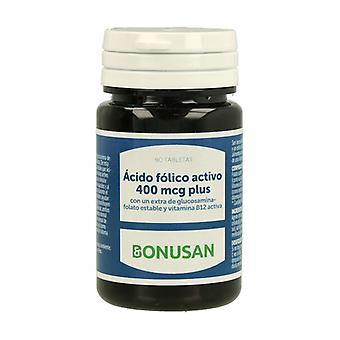 Active Folic Acid Plus 90 tablets of 400μg