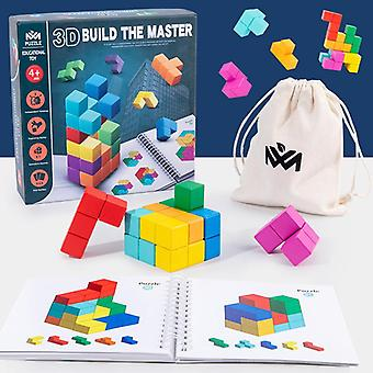 Square Block Children Education Cube Toys For Puzzle Making, Crafts And Diy Projects L01