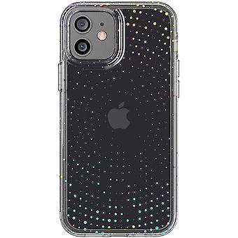 tech21 Evo Sparkle Radiant for Apple iPhone 12 and 12 Pro 5G - Hygienically Bacterial Phone Case