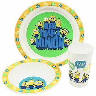 Minions Childrens/Kids Tableware Set
