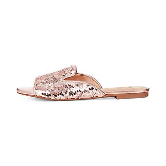 INC International Concepts Womens Maylap Open Toe Special Occasion Slide Sandals