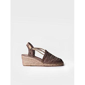 TANIA-PL - Espadrille for woman by Toni Pons made of cotton fabric.