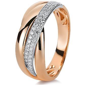 Luna Creation Promessa Ring Multiple Stone Trim 1B999RW853-1 - Ringbreedte: 53