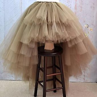 Asymmetrical Tulle Prom Dress