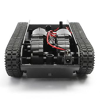 Robot Tank Smart Robot Tank Car Chassis Kit Rubber Track Robot Giocattolo
