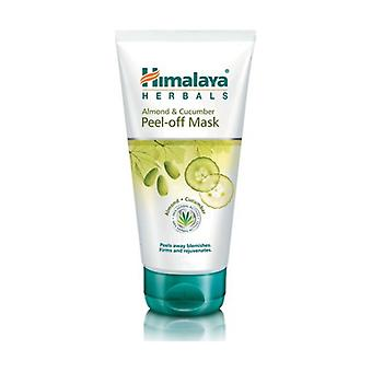 Moisturizing Cucumber & Almond Peel-off Mask 75 ml of cream