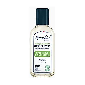 Shower soap Soap flower Sweet almond oil & Sweet almond 75 ml of cream