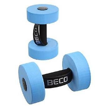 BECO Aqua hantel - par medelstora dum klockor