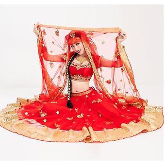Indien Saree Dupattas große Schal Mesh
