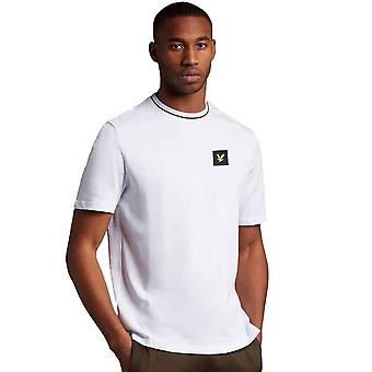 Lyle & Scott Casuals Tipped T-Shirt - White