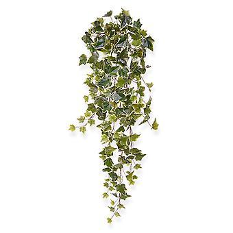 Künstliche Efeu Hängepflanze 80 cm bunt