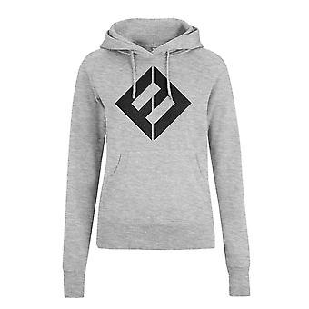Foo Fighters Hoodie Equal Band Logo new Official Womens Grey Pullover