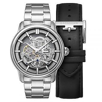 MEN's EARNSHAW ES-8126-22 - Steel Bracelet