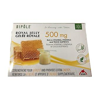 Royal Jelly Bipole 20 ampoules of 10ml (500mg)