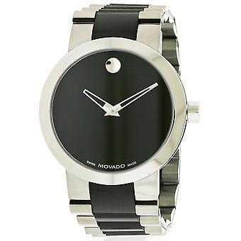 Movado Vertido Black PVD Mens Watch 0606373