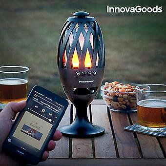 LED Torch with Bluetooth speaker
