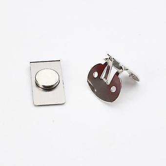 Magneettinen näkymätön solmiopidike, automaattisesti kiinteä, ruostumattomasta teräksestä valmistettu metallipaita