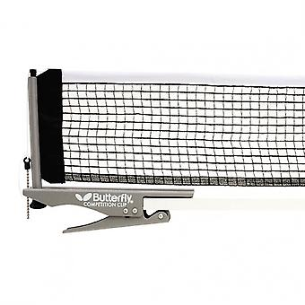 Butterfly Kilpailu Pöytä Tennis Clip 6ft Net & Post Set