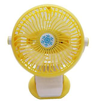USB opladen clip-on ventilator, handheld desktop automatische swing fan